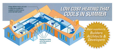 ducted air conditioning and evaporative systems